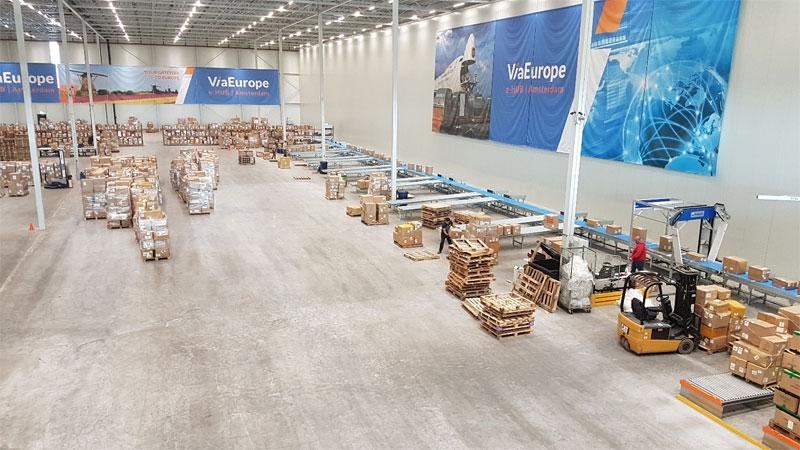 Doelmatig dozensorteersysteem voor distributiecentrum ViaEurope