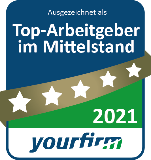 "ROFA INDUSTRIAL AUTOMATION AG is again ""Top Employer in Medium-sized Businesses"" in 2021"