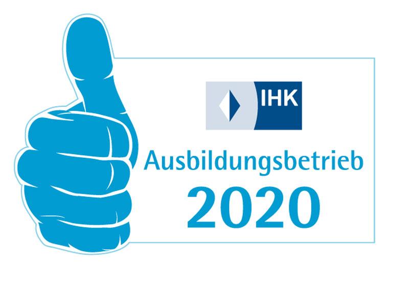 """ROFA erhält Auszeichnung """"IHK-Ausbildungsbetrieb 2020″"""