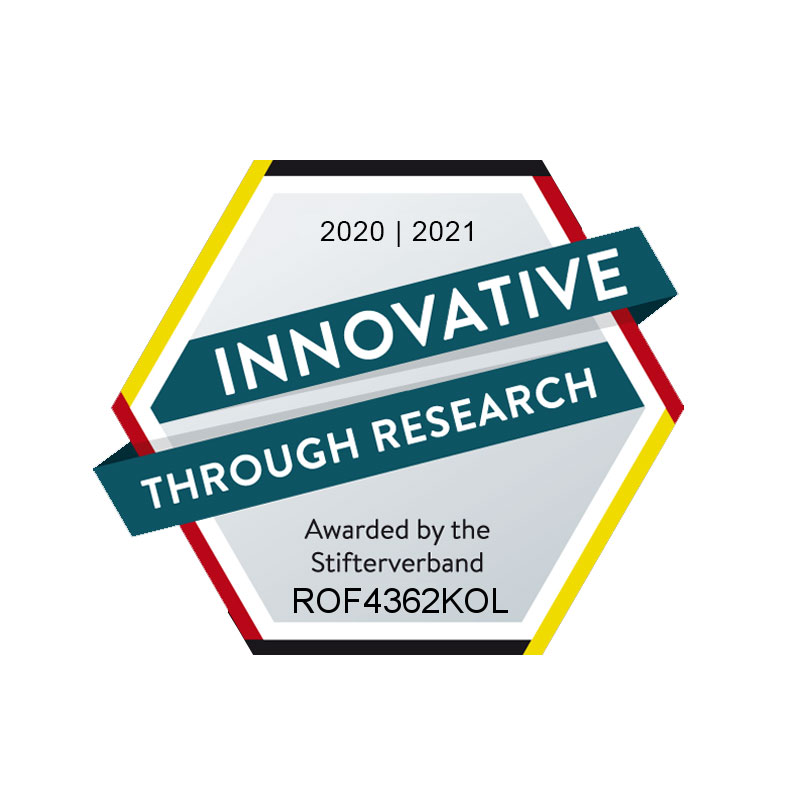 Seal of Approval - Innovative Through Researc