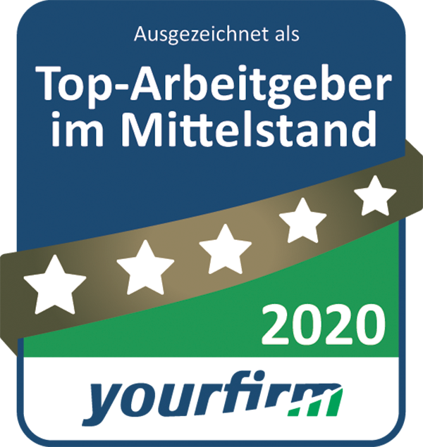 "ROFA ist ""Top-Arbeitgeber im Mittelstand 2020"""