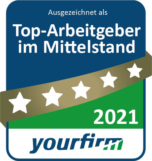 """ROFA INDUSTRIAL AUTOMATION AG ist auch 2021 wieder """"Top-Arbeitgeber im Mittelstand"""""""