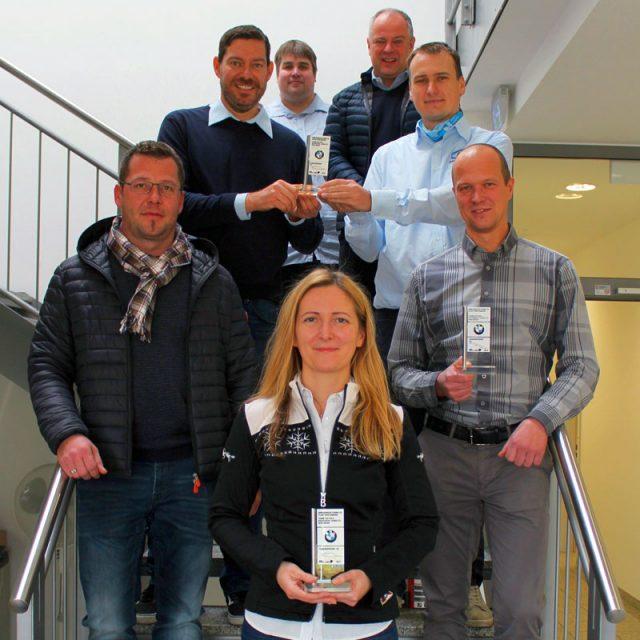 Auszeichnung von BMW Spartanburg